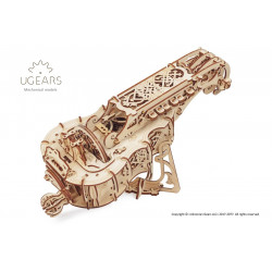 Hurdy-Gurdy - Mechanical 3D Puzzle