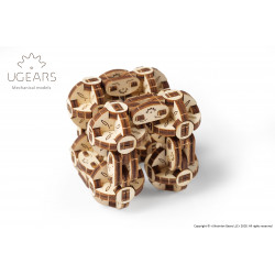 Flexi Cubus - Mechanical 3D Puzzle