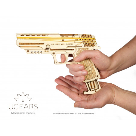Wolf-01 Handgun - Mechanical 3D Puzzle
