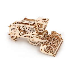Combine Harvester - Mechanical 3D Puzzle