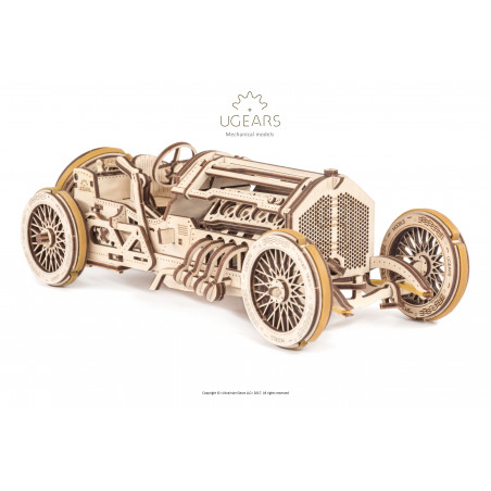 U9 Grand Prix Car - Mechanical 3D Puzzle