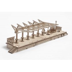 Railway Platform - Mechanical 3D Puzzle