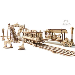 Tram Line - Mechanical 3D Puzzle
