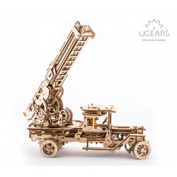 Fire Truck - Mechanical 3D Puzzle