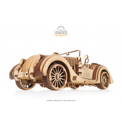 Roadster VM-01 - Mechanical 3D Puzzle