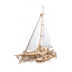 Trimaran Merihobus - Mechanical 3D Puzzle