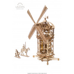 Tower Windmill - Mechanical 3D Puzzle