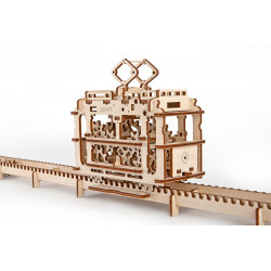 Tram with Rails - Mechanical 3D Puzzle