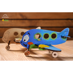Airplane - Colouring 3D Puzzle