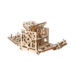 Ugears Games Dice Keeper - Wooden Mechanical Device for Tabletop Games