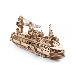 Research Vessel - Mechanical 3D Puzzle