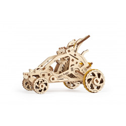 Mini-buggy - Mechanical 3D Puzzle