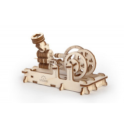 Pneumatic Engine - Mechanical 3D Puzzle